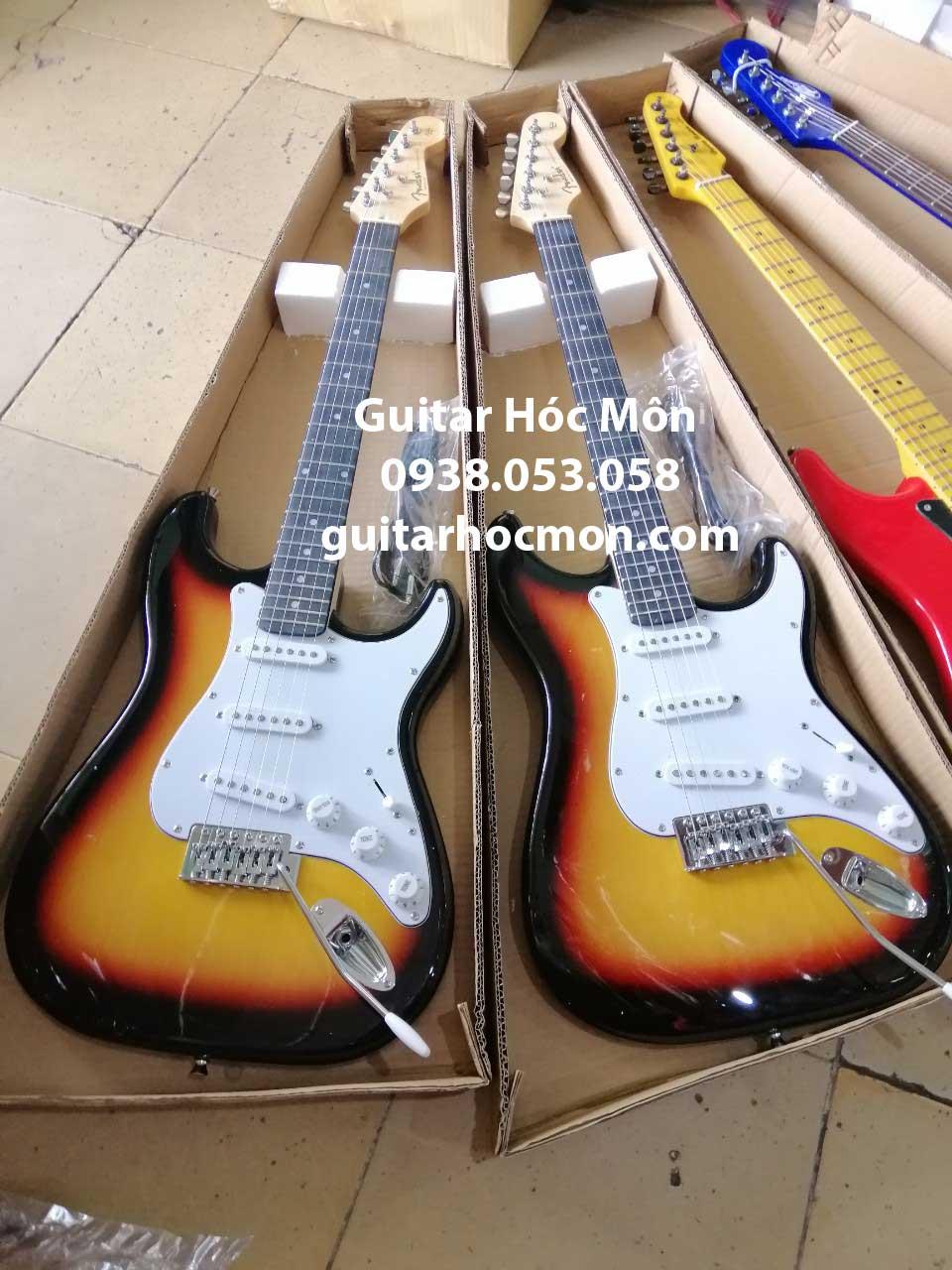 Đàn guitar điện fender giá rẻ tại Hóc Môn
