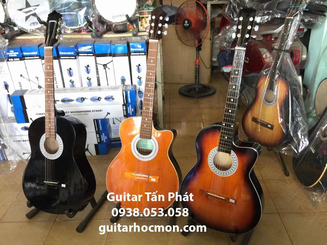 Đàn guitar giá rẻ tại Hóc Môn