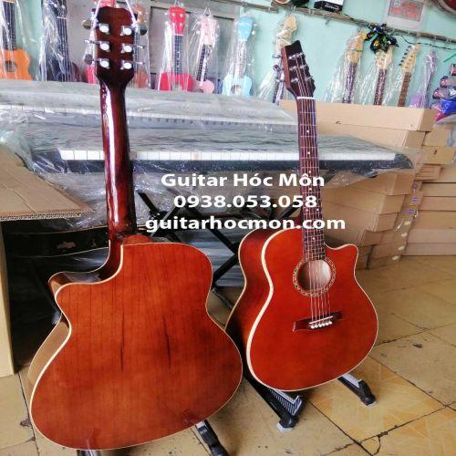 Đàn guitar full gỗ hồng đào