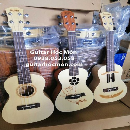 Đàn ukulele concert giá rẻ gỗ mahogany